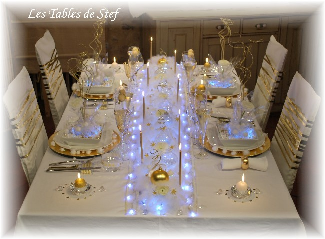 D co de table for Decoration de noel pour table