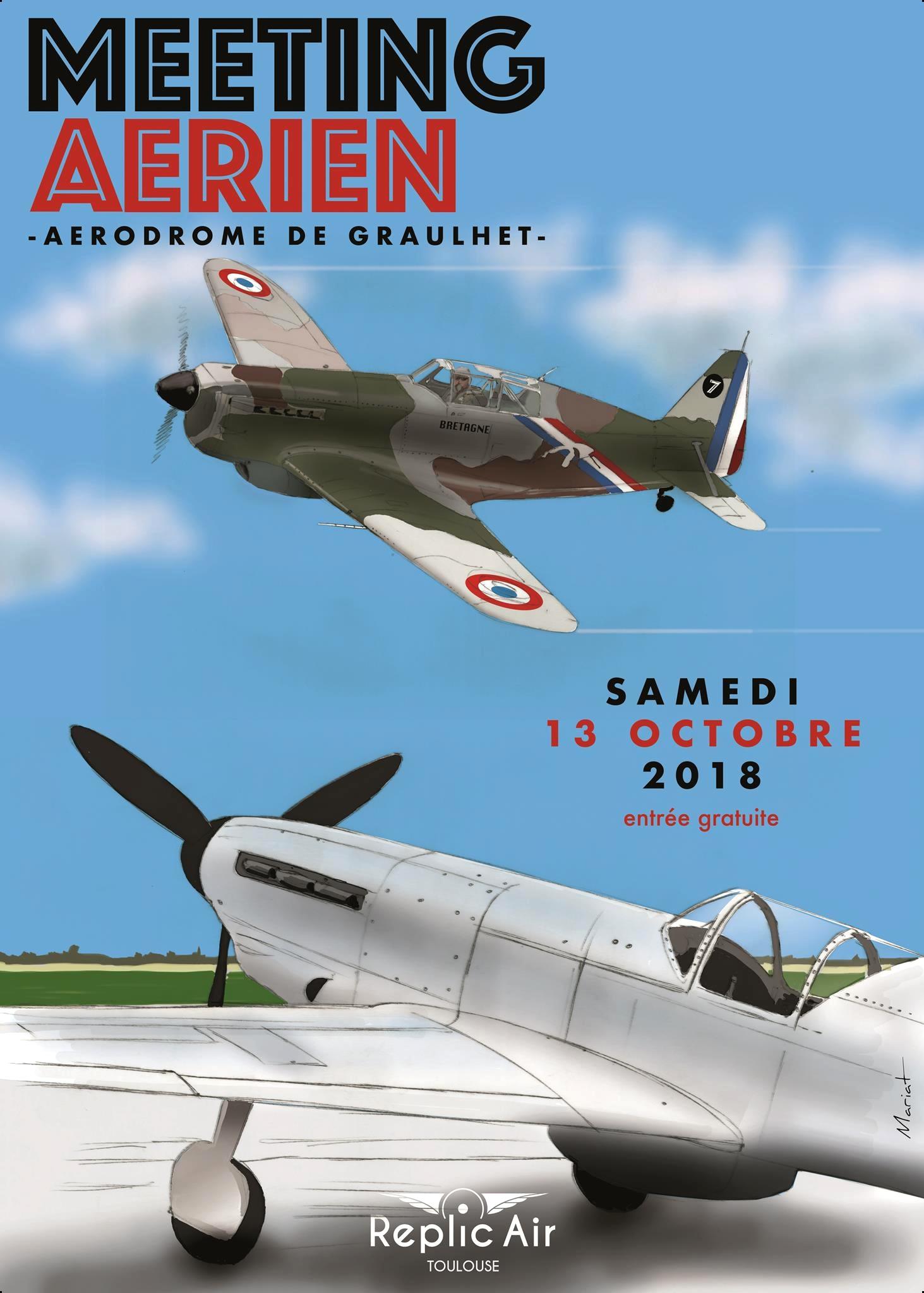 Meeting Aerien RéplicAir 2018 , Aérodrome de Gaillac - Graulhet 2018