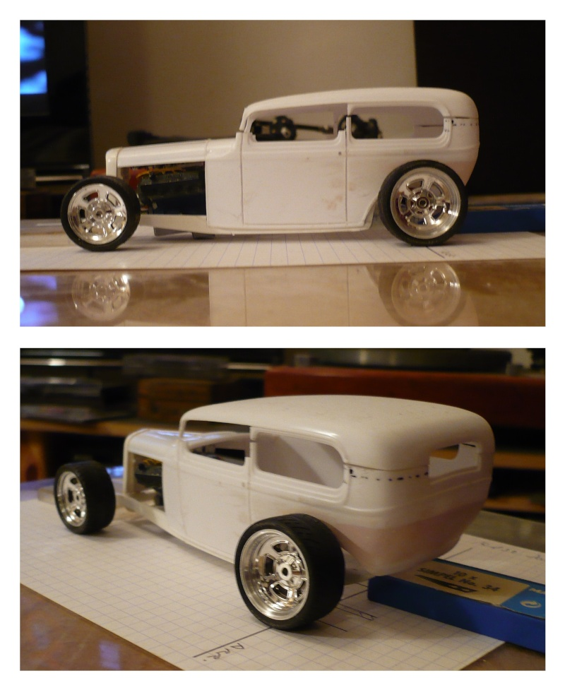 Projet Ford 32 Sedan Hi boy